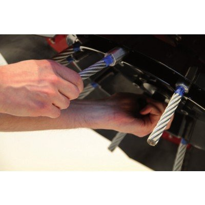 Zestaw stalowych szczotek (10 sztuk) AD-460-001