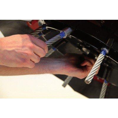 Zestaw stalowych szczotek (100 sztuk) AD-460-003